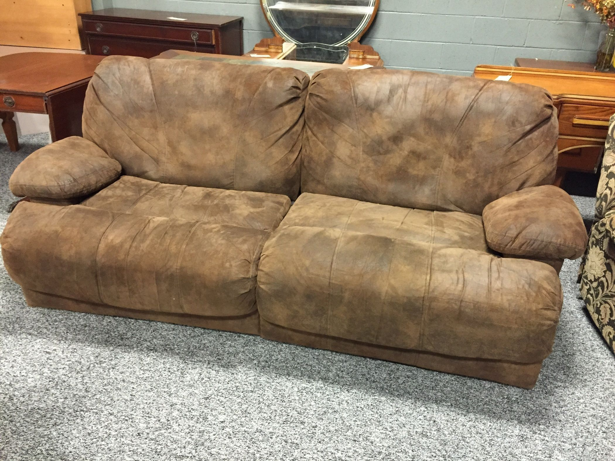 Reclining Sofa Allegheny Furniture Consignment Second Hand