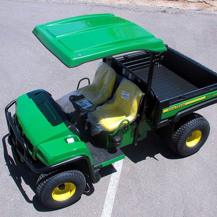 Deluxe Fiberglass Canopy Kit for the John Deere Gator T-Series (TS TX TE TH) & Deluxe Fiberglass Canopy Kit for the John Deere Gator T-Series (TS ...