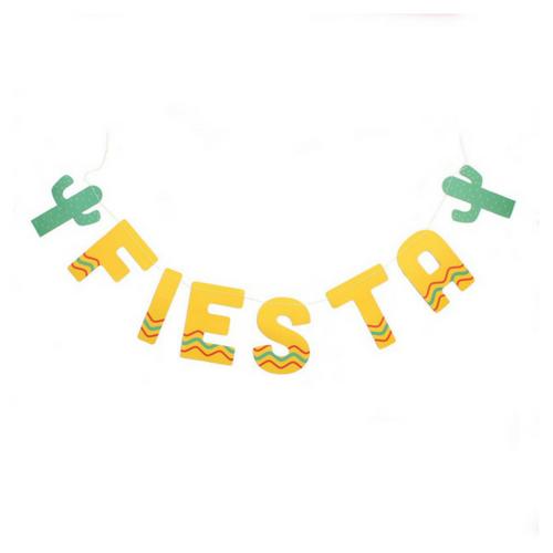 Fiesta Banner Fiesta Party Decorations Fiesta Party Supplies Mexican Party Decorations