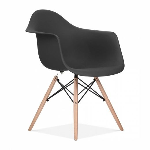 Great Eames Inspired Style Eiffel Stuhl   Schwarz   Eames Inspired Von Cult  Furniture UK Awesome Ideas