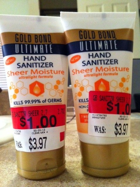 Free Gold Bond Hand Sanitizer Couponinoncoffee Hand
