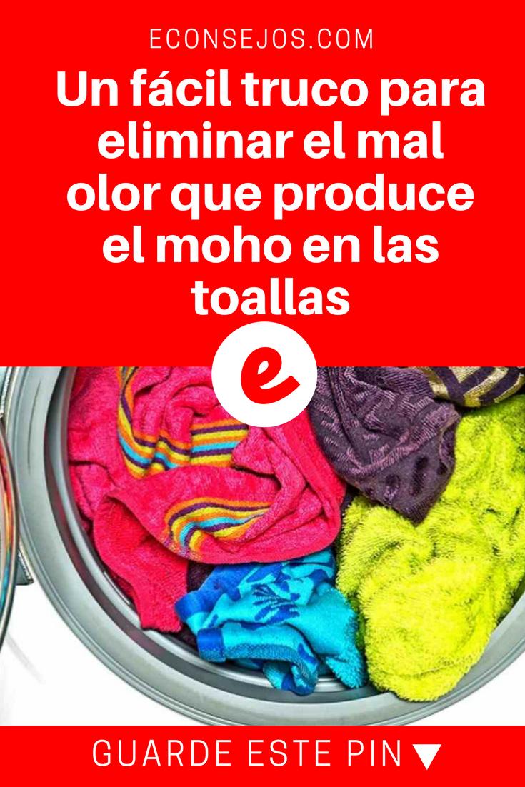 Con Esta Receta Casera Aprendes Cómo Quitar El Mal Olor De Las Toallas Como Lavar Las Toallas Toallas Olor