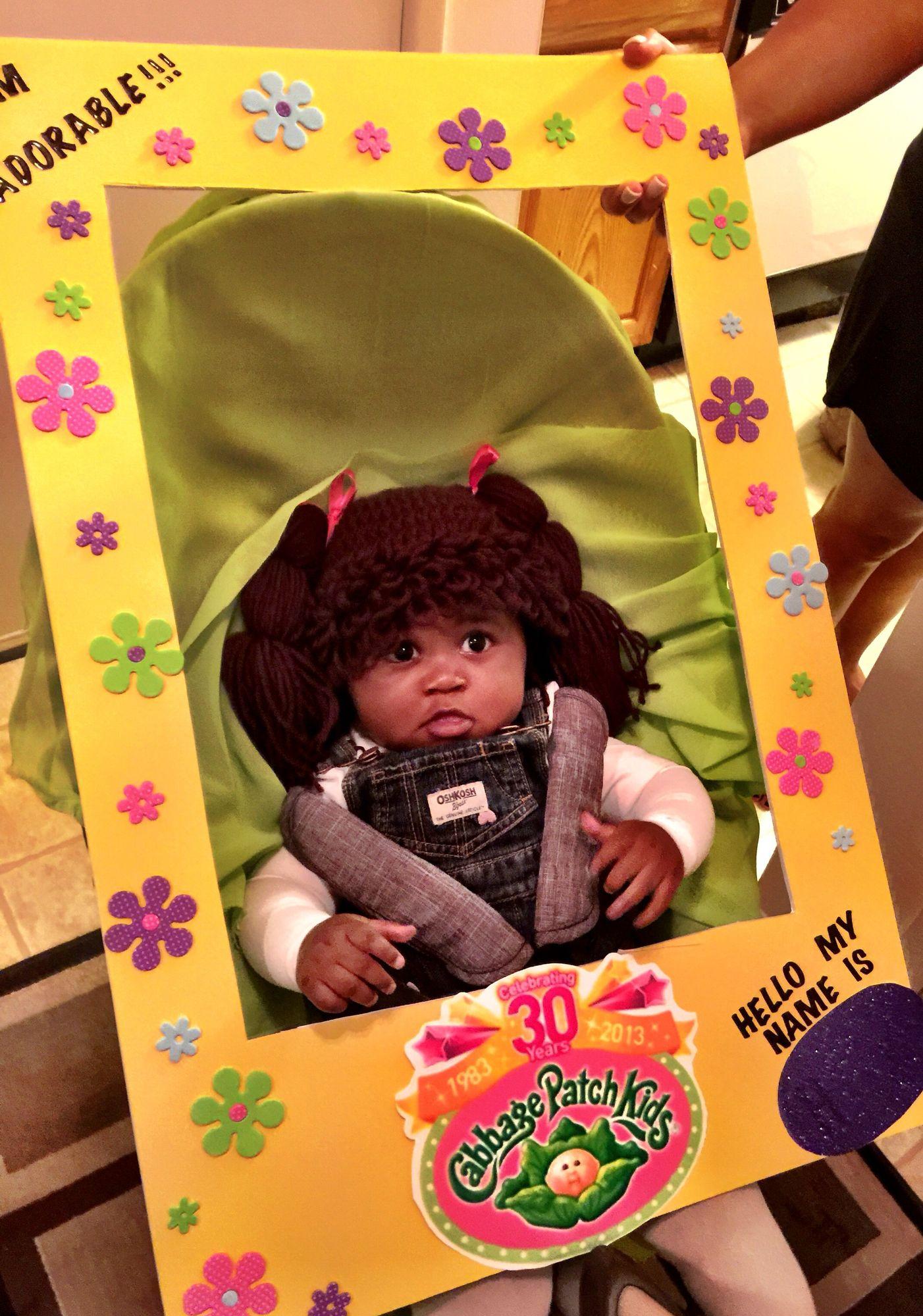 Cabbage Patch Kid Costume #InfantHalloweenCostume