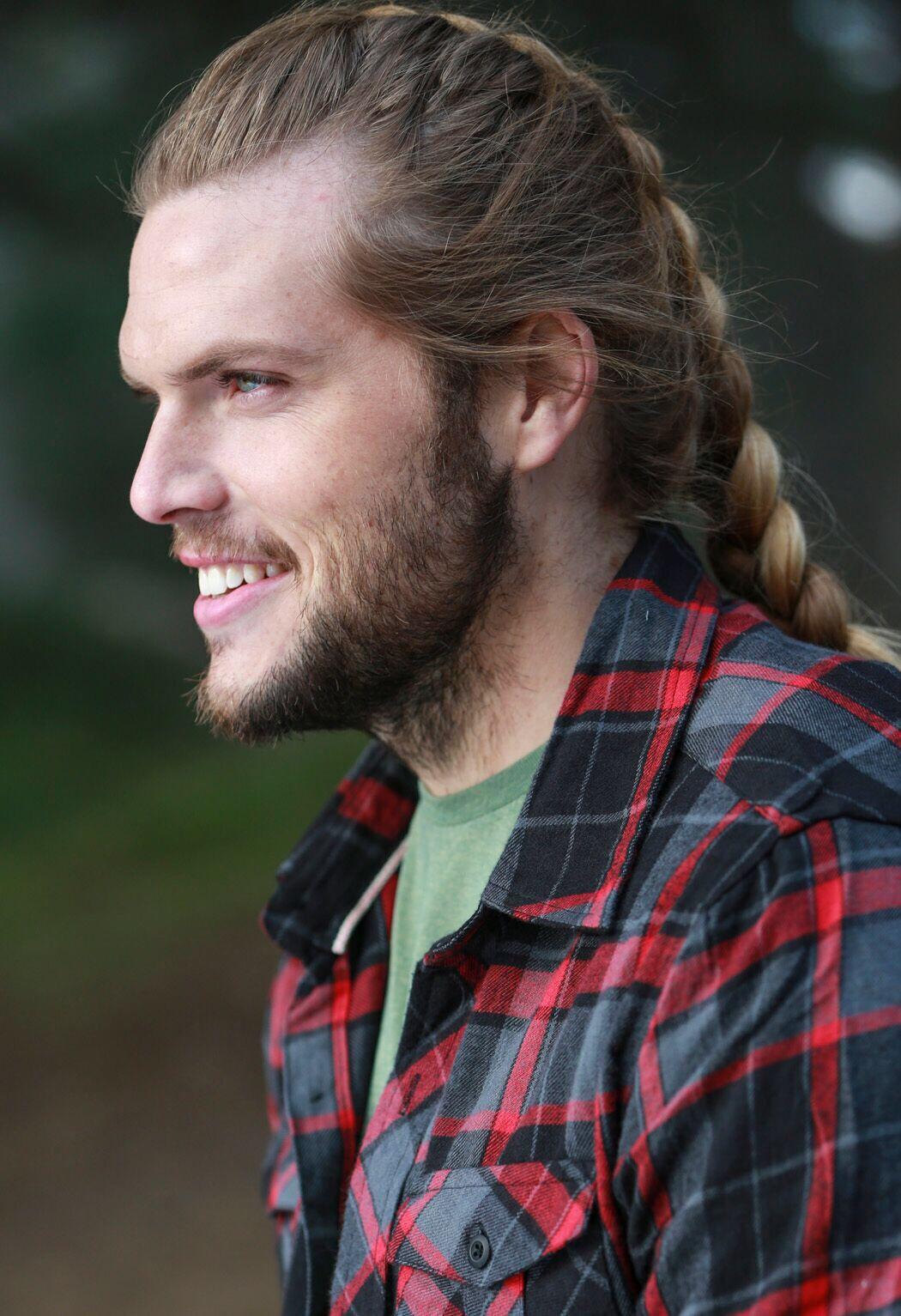 Superb Doing Lumberjack Things Travisonic And Ladyolympia Making This Natural Hairstyles Runnerswayorg