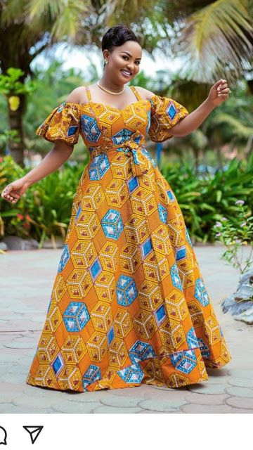 2019 HOTTEST LONG AFRICAN DRESSES FOR LOVELIES - #africandressstyles