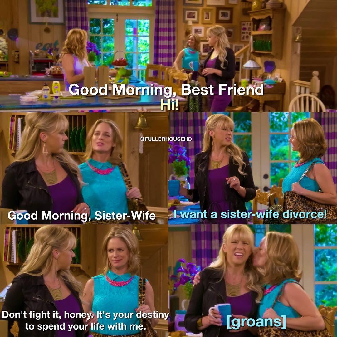 Fuller House On Instagram Last Post For Today Good Night Fullhouse Fullerhouse Kimmygibbler Djtanner Ste Fuller House House Funny Full House Funny