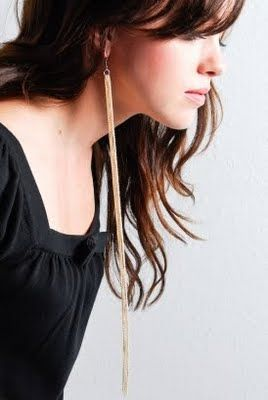 Super Long Earrings Very Sy I Like Them These Are From Dechel