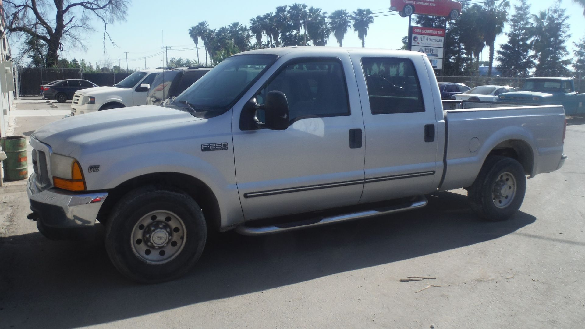 YouTube F250, Crew cab, Ford