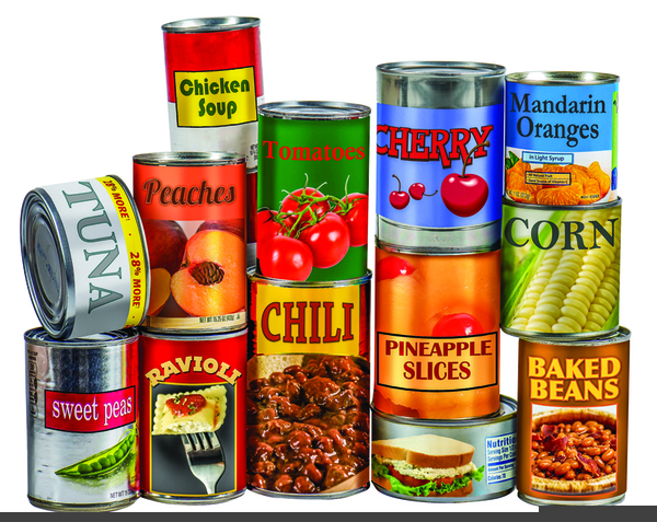 Canned Goods Clipart Google Search Emergency Food Non Perishable Foods Food