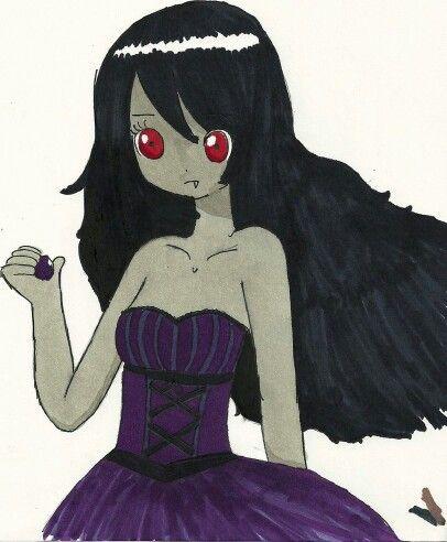 Marceline in purple? Intresting