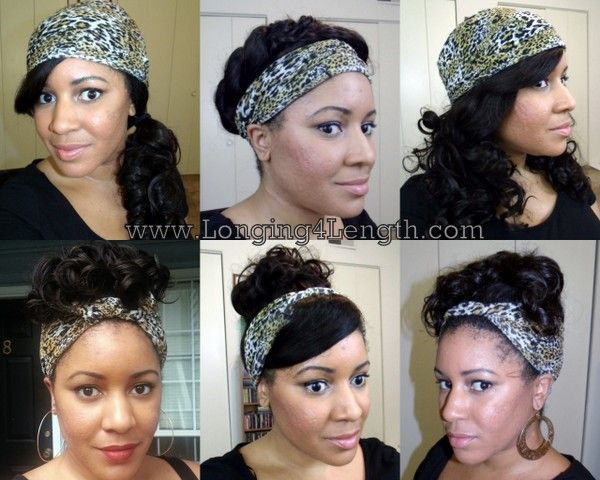 7 Scarf Hairstyles For Bad Hair Days Scarf Hairstyles
