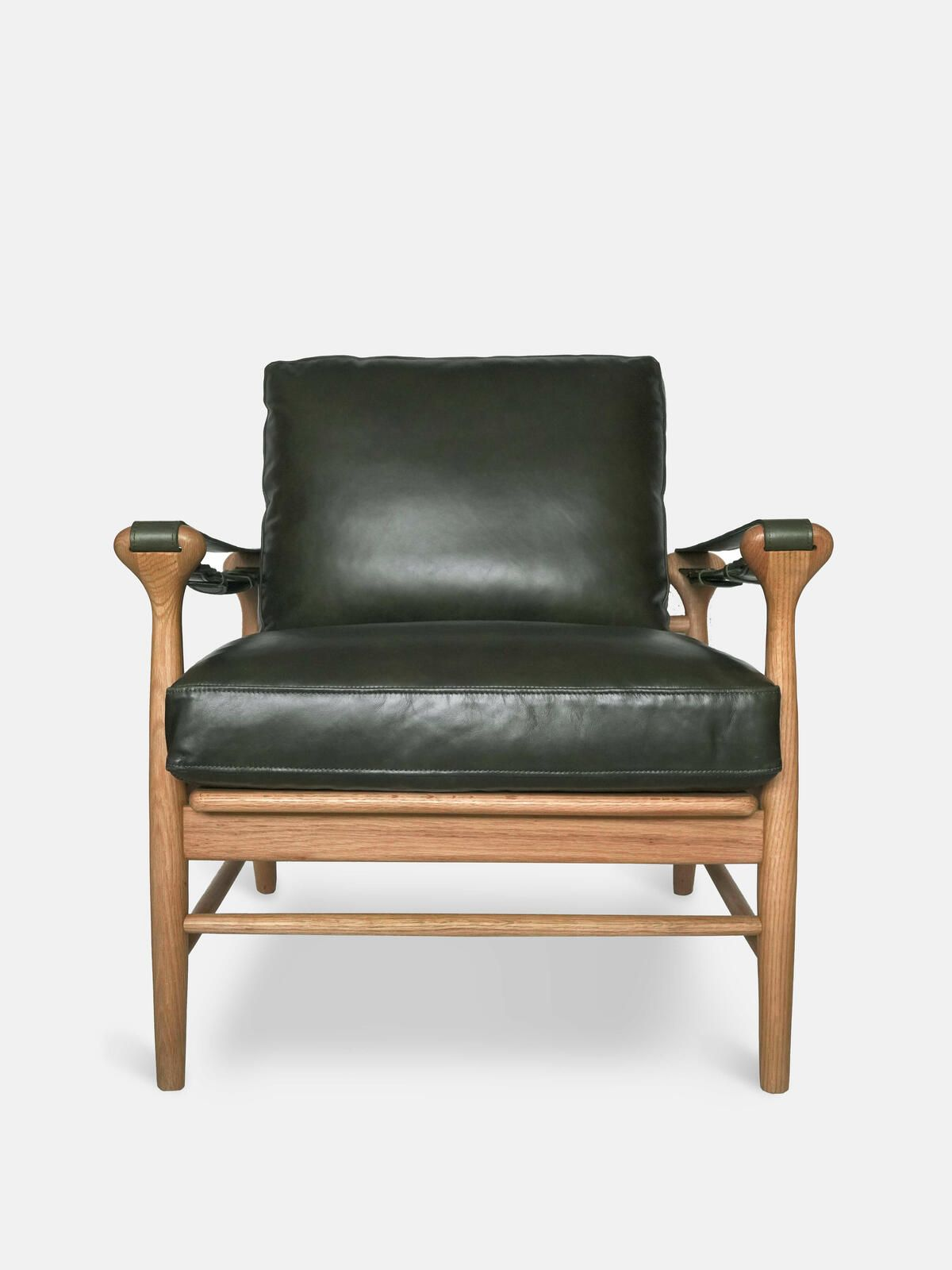 Campden Arm Chair In Avocado Leather Arm Chairs Soho Home Leather Armchair Armchair Chair