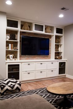 Built In Entertainment Center Suburban Bees