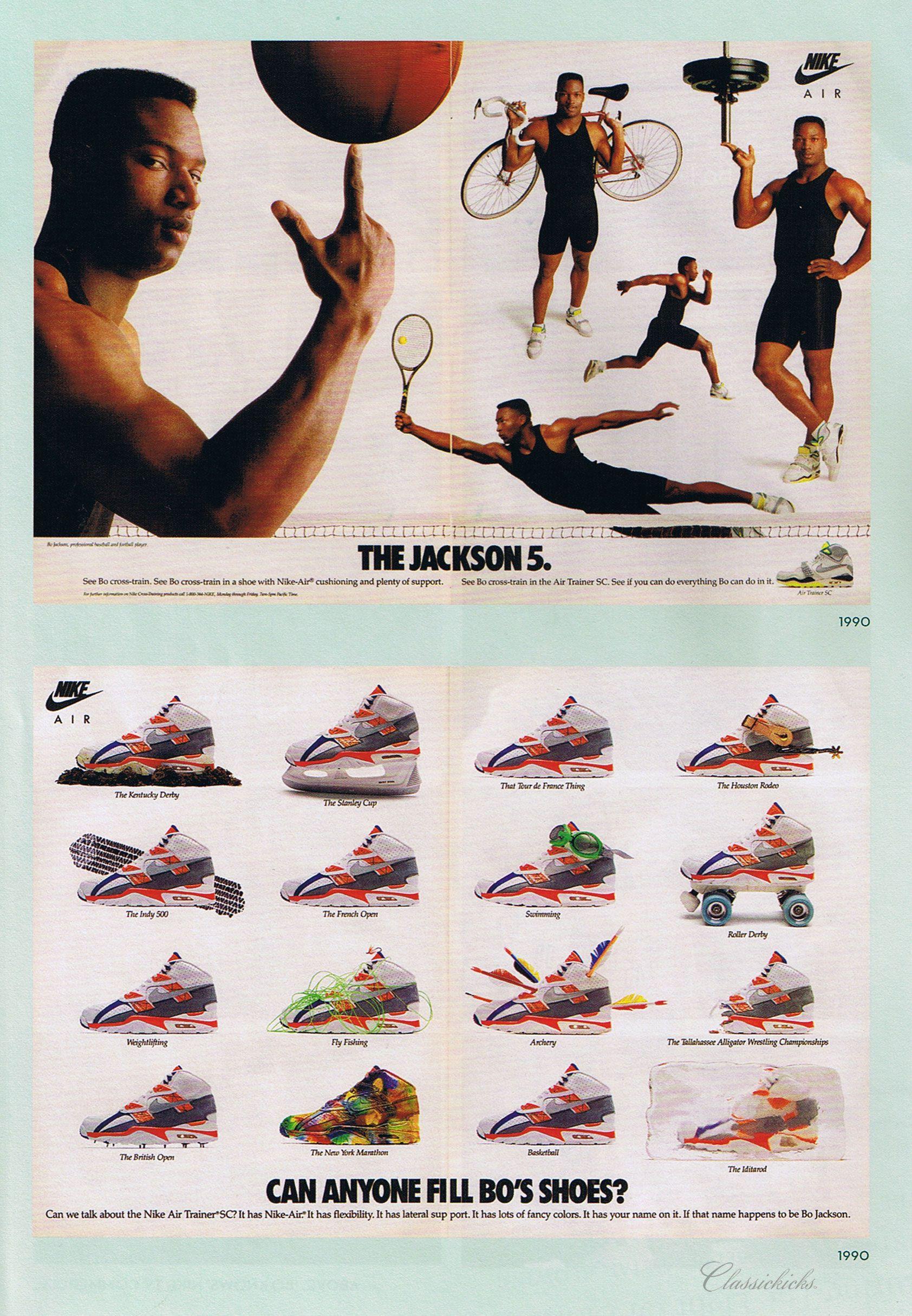Bo Jackson Nike Ad Nike Ad Nike Art Nike Poster