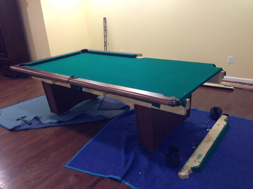 DismantleFurniture Pool Table Disassembly Service - Pool table disassembly