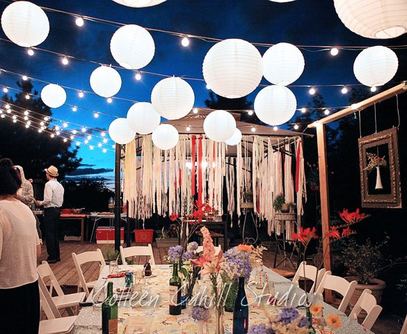 50 Led Ball Lamps Balloon Light For Paper Lantern Wedding Party Decoration  RDR