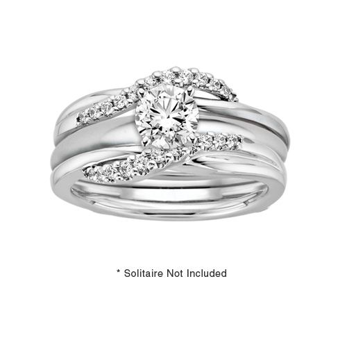 16 ct tw Diamond Ring Guard Fred Meyer Jewelers My Style
