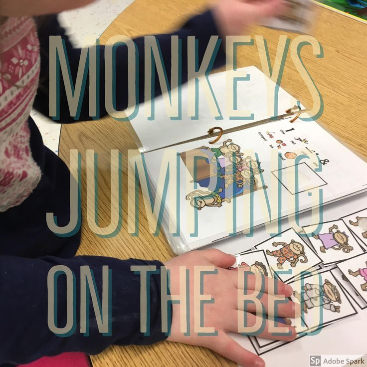 5 Little Monkeys Adapted 4 Ways Interactive Story Fun Poems