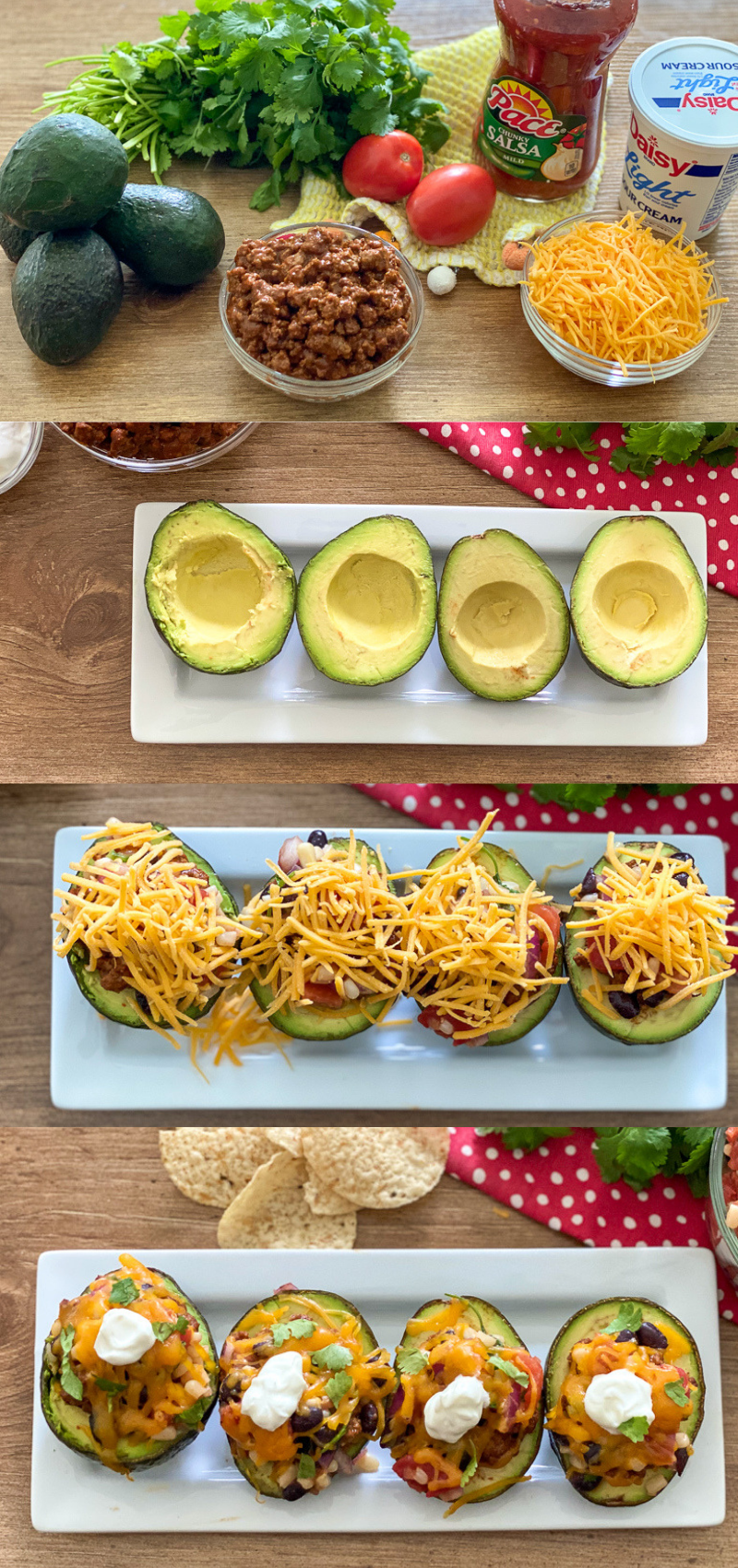 Avocado Taco Boats