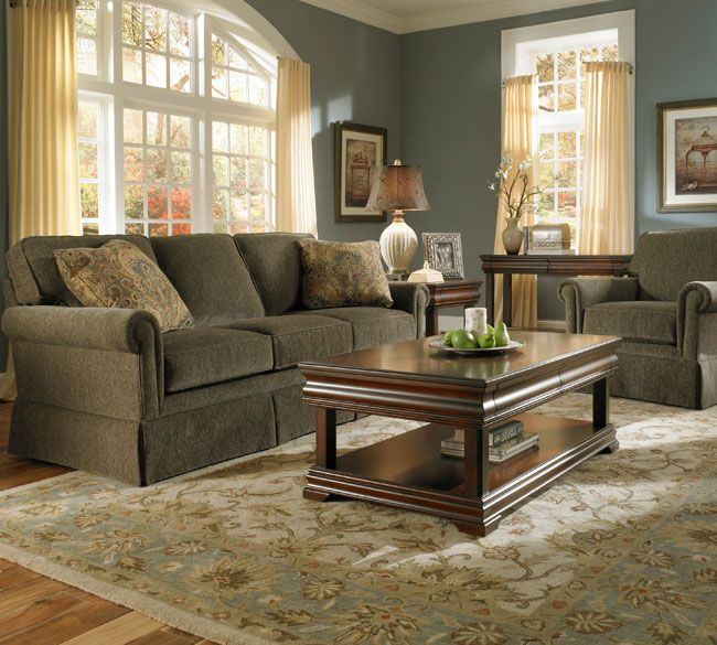 Colors That Go With Olive: Audrey 3762-7 Queen Sized Sleeper Sofa