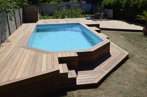 Faire les finitions de ma terrasse de piscine Home Pinterest - Piscine A Construire Soi Meme