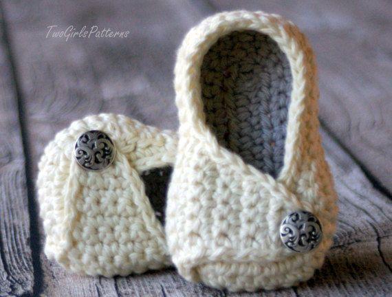 Crochet Pattern Instant Download - unisex - #113 Baby Wrap Shoe ...