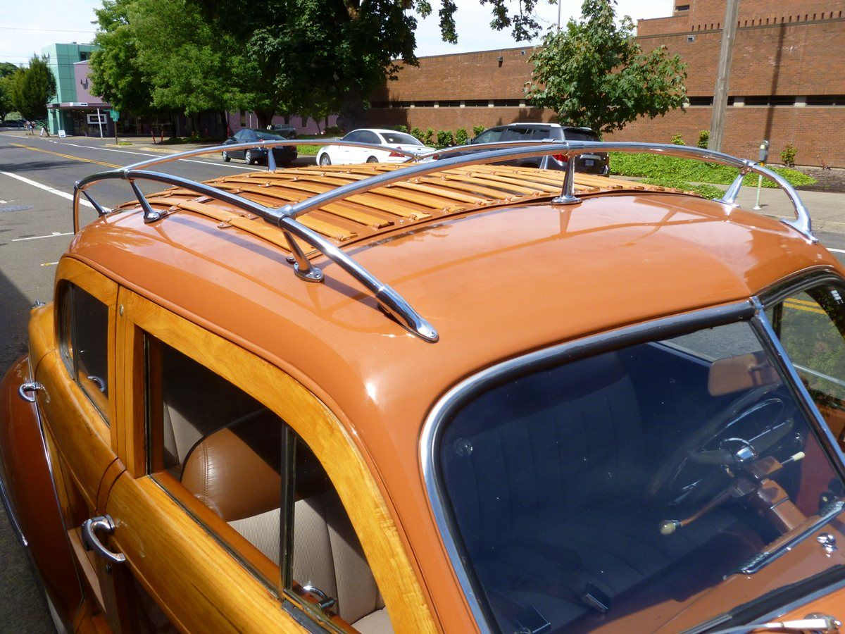 1946 Town And Country If The Trunk Isn T Adequate The