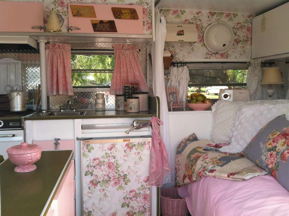 Shabby Chic Glamping This Is Basically What I Want Mine Camper To Look Like