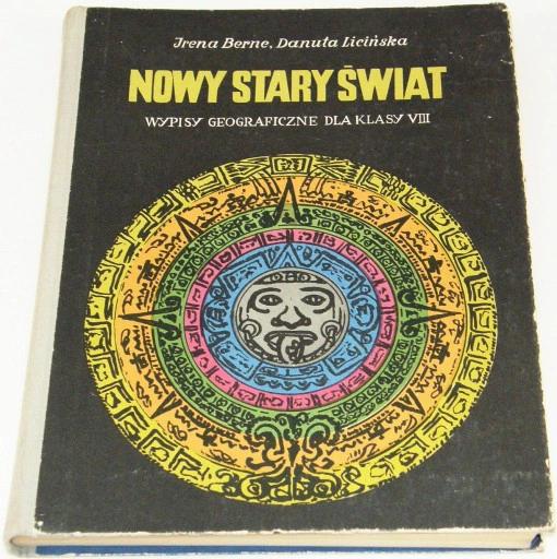 Nowy Stary Swiat Wypisy Geograficzne Dla Klasy 8 Allegro Pl Cena 5 Zl Stan Uzywany Kielce Book Cover Books Cover