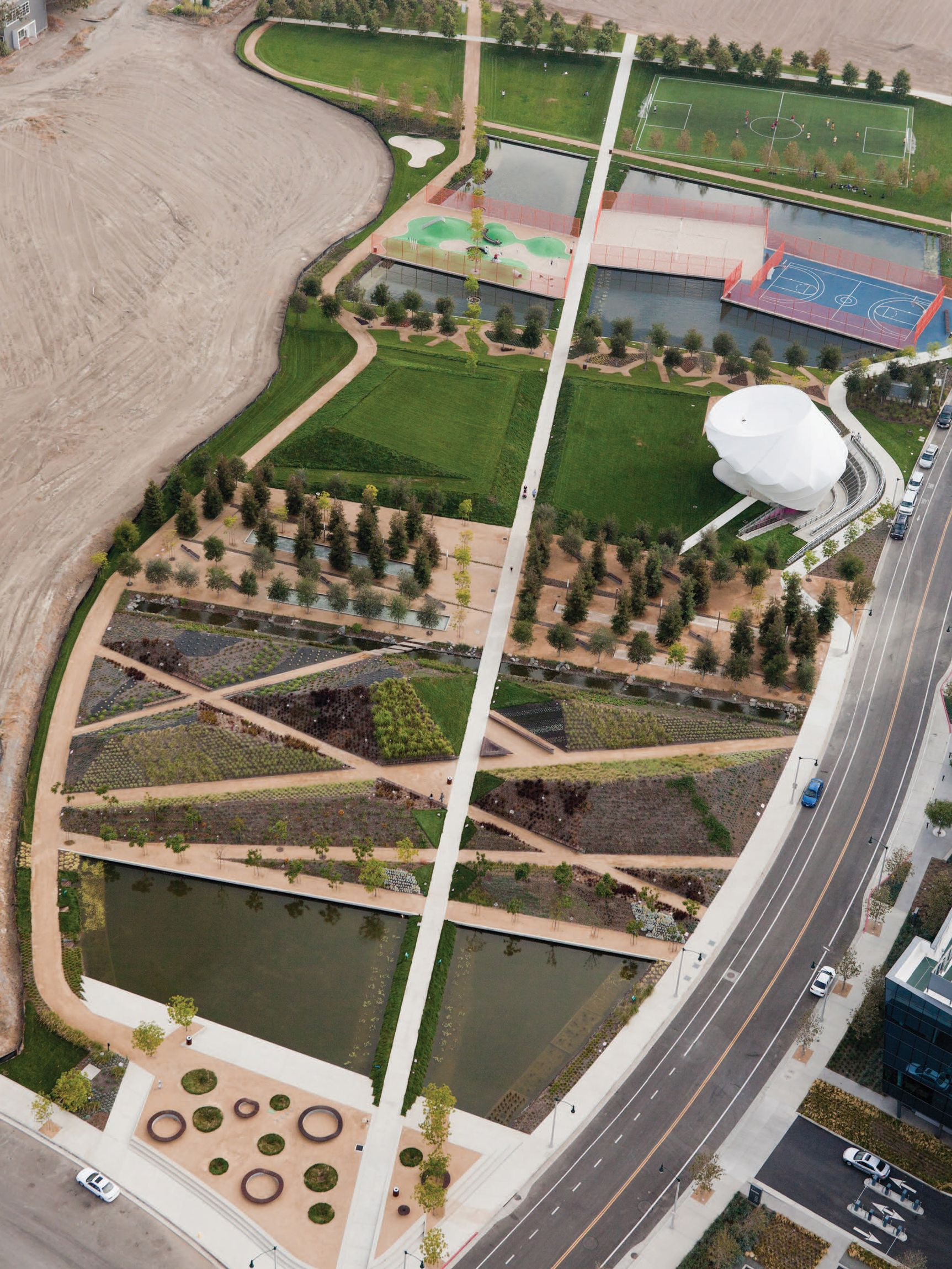 11 Ways To Make Your Office Complex Less Soul Suckingly Awful Landscape Architecture Plan Playa Vista Landscape Projects