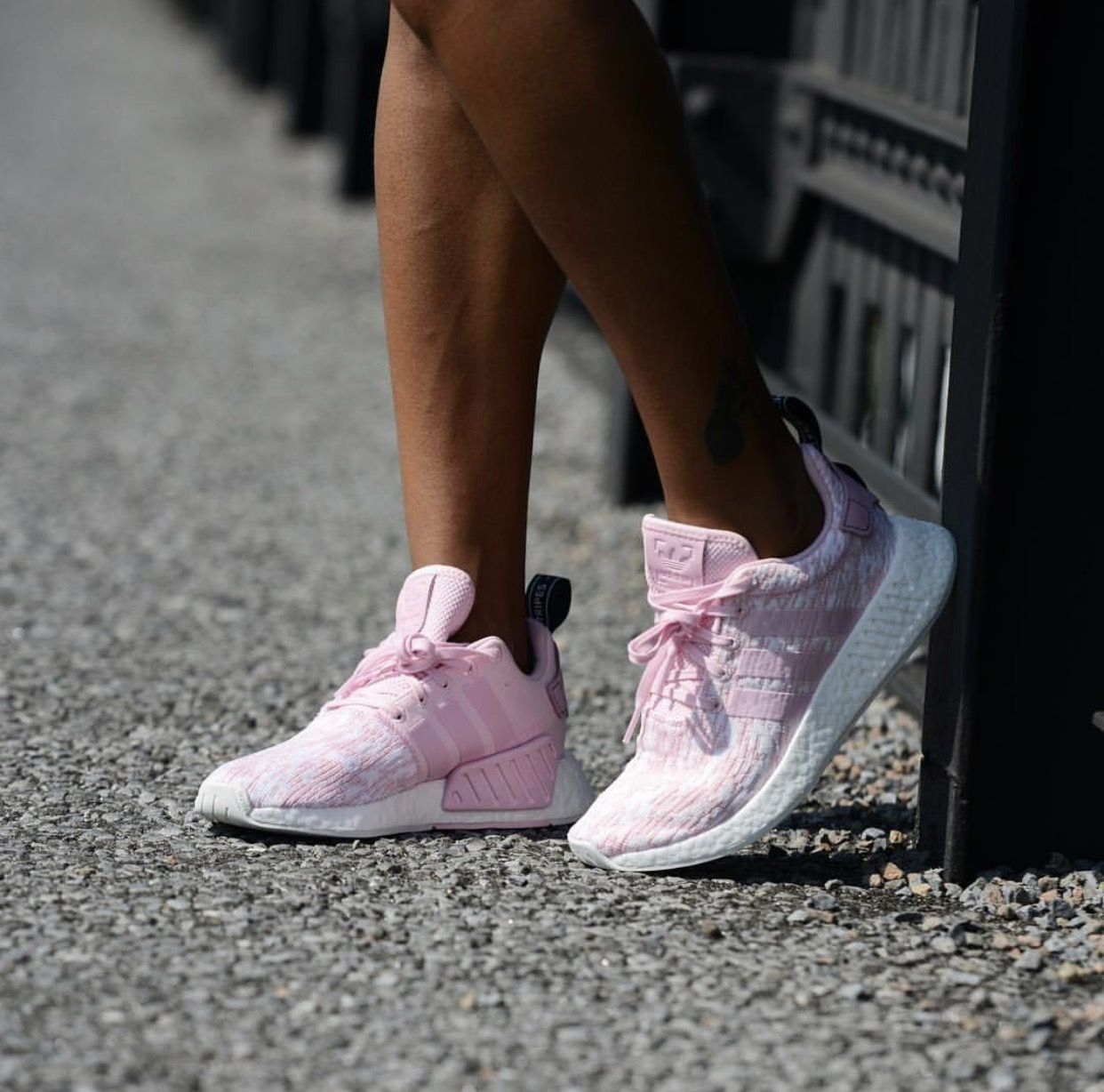 b3c05122a26d9 Love these..especially with a nice tan! Adidas Originals NMD R2 light pink  2017