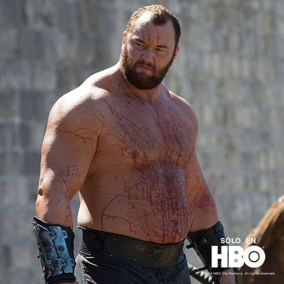 THE SOCIOPATHIC KILLER KNOWN AS THE MOUNTAIN ON GAME OF THRONES