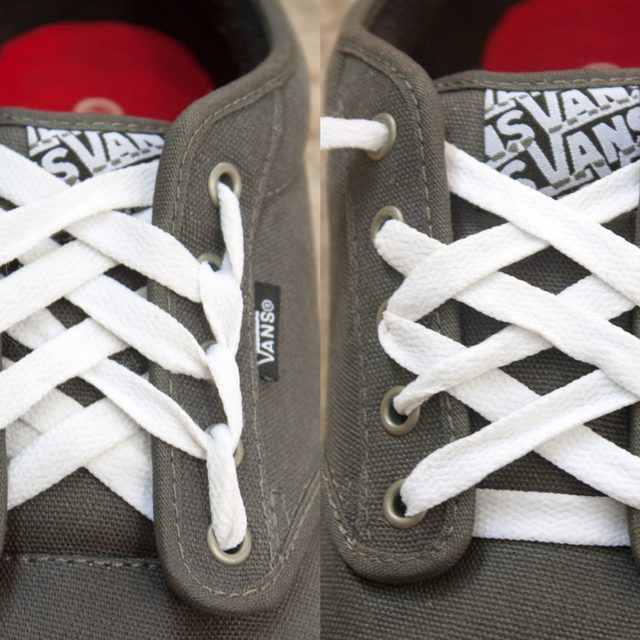 a790c6ba380 How to Make Cool Designs With Shoelaces for Vans