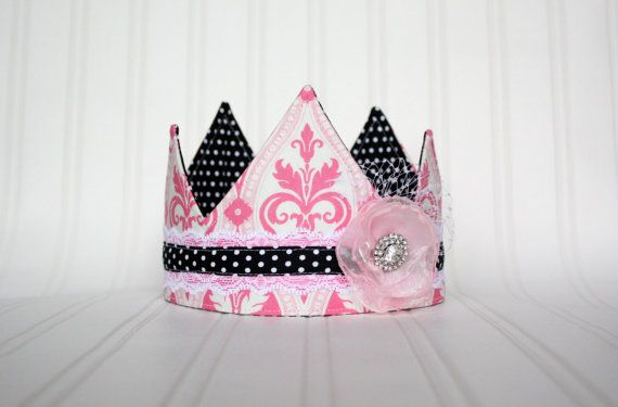Hey, I found this really awesome Etsy listing at https://www.etsy.com/listing/190278910/french-inspired-fabric-crown-birthday