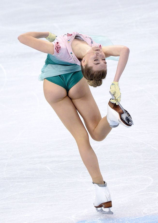 Sexy Ice Skater Pictures Upskirt
