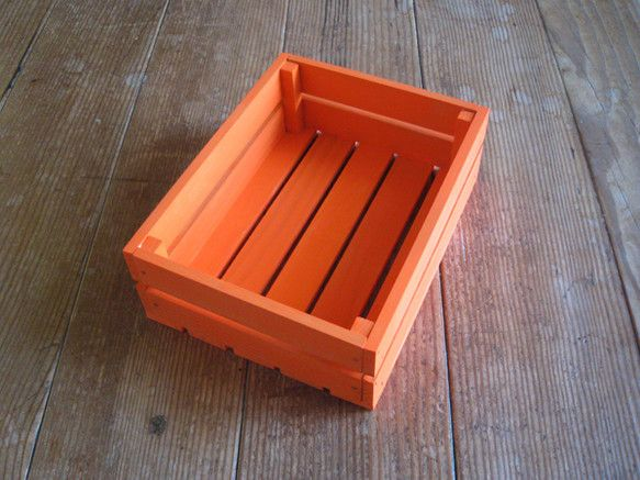 Photo of 木製ハガキ大の場合/オレンジ