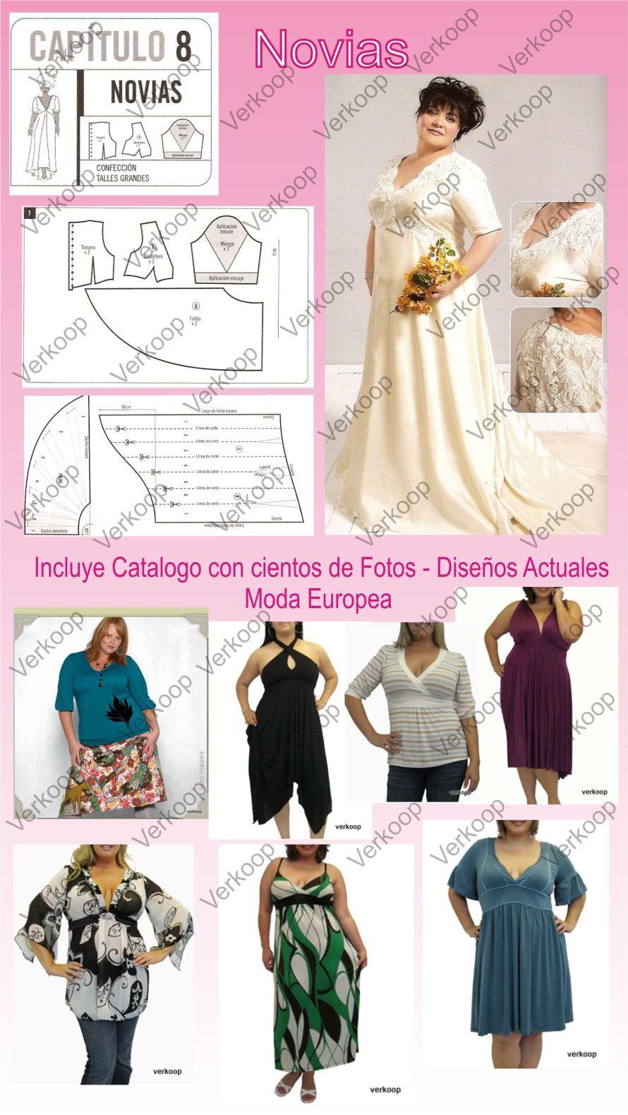 Tallas-grandes6V | шитье | Pinterest | Moda, Costura y Confeccion