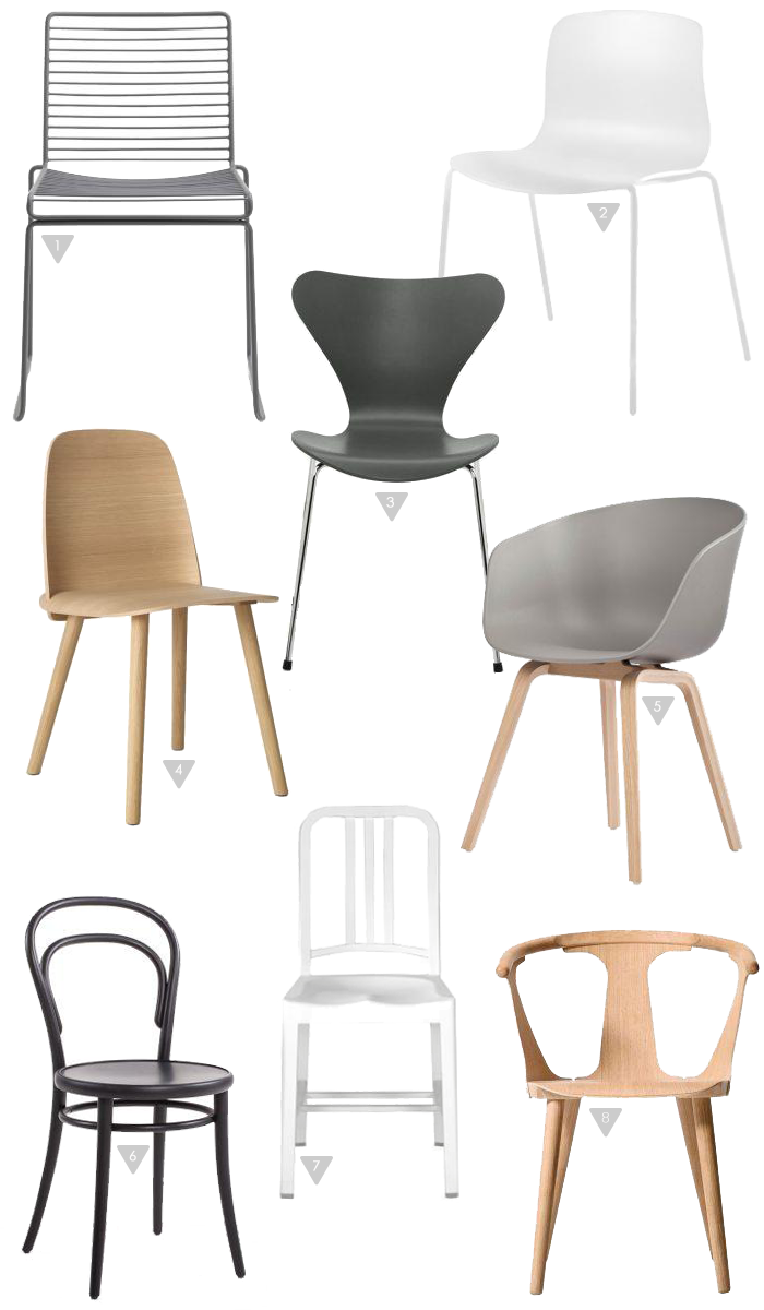 via stylizimo chairs wegner muuto thonet hay jacobsen st hle wohnklamotte. Black Bedroom Furniture Sets. Home Design Ideas
