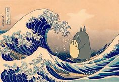 Totoro on waves