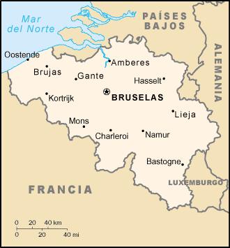 File Be Map Es Png Belgica Brujas Ciudad Bruselas Mapa