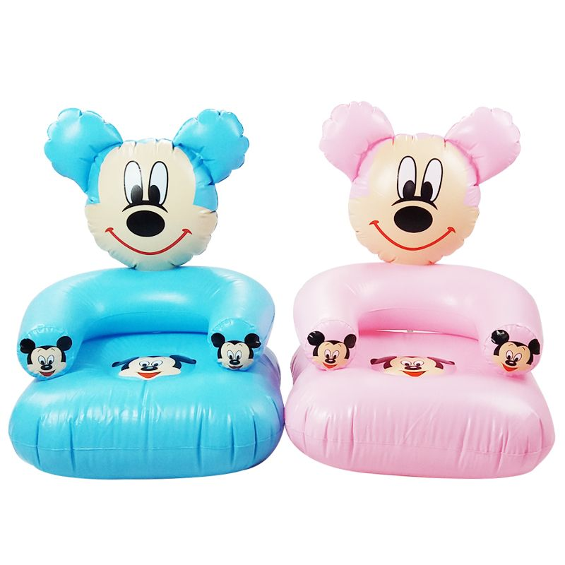 Sofa Tables  Years Old Children Cute Portable Cartoon Toy Chairs Lovely Inflatable Sofa Kids PVC