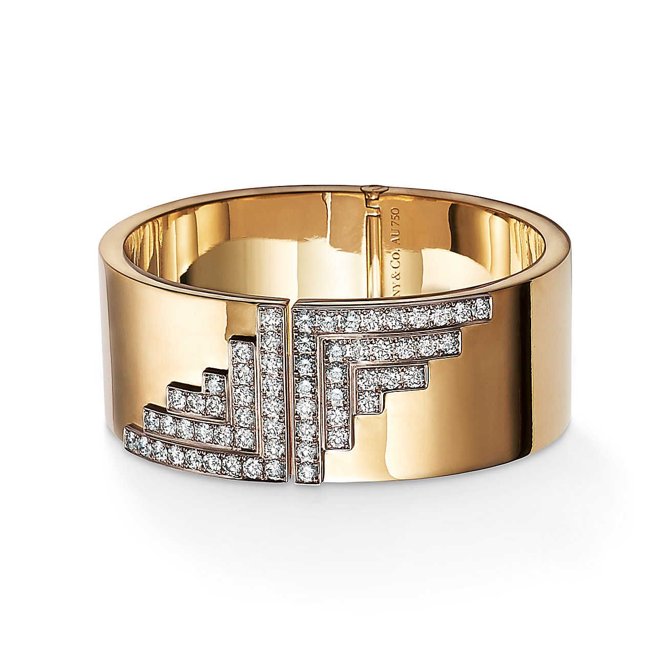 Out of Retirement™:Hinged Diamond<br>Bracelet