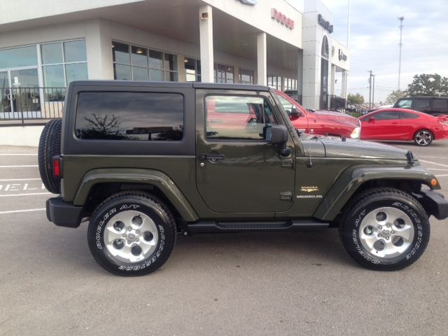 This Tank Green 2015 Jeep Wrangler Belongs To Proud Owner Mike