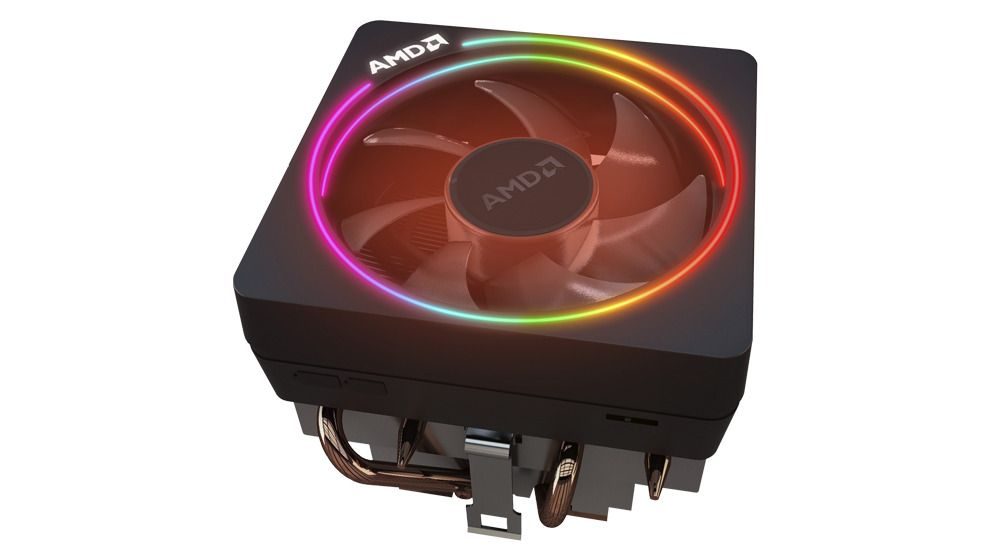 Wraith Prism Led Cooler For Amd Ryzen 7 Cpu 2700x Amd Custom Computer Fans For Sale