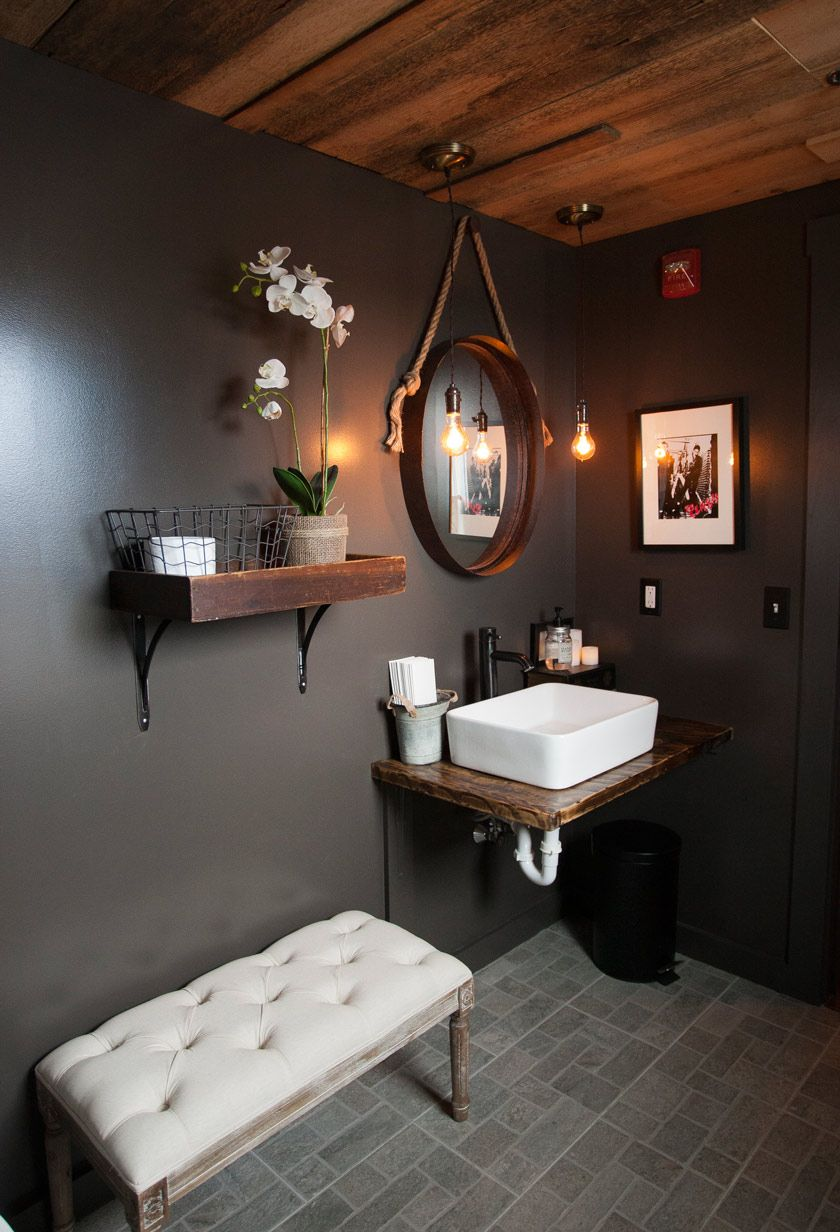 Wc in plate restaurant show us your inspiration for Bathroom design restaurant