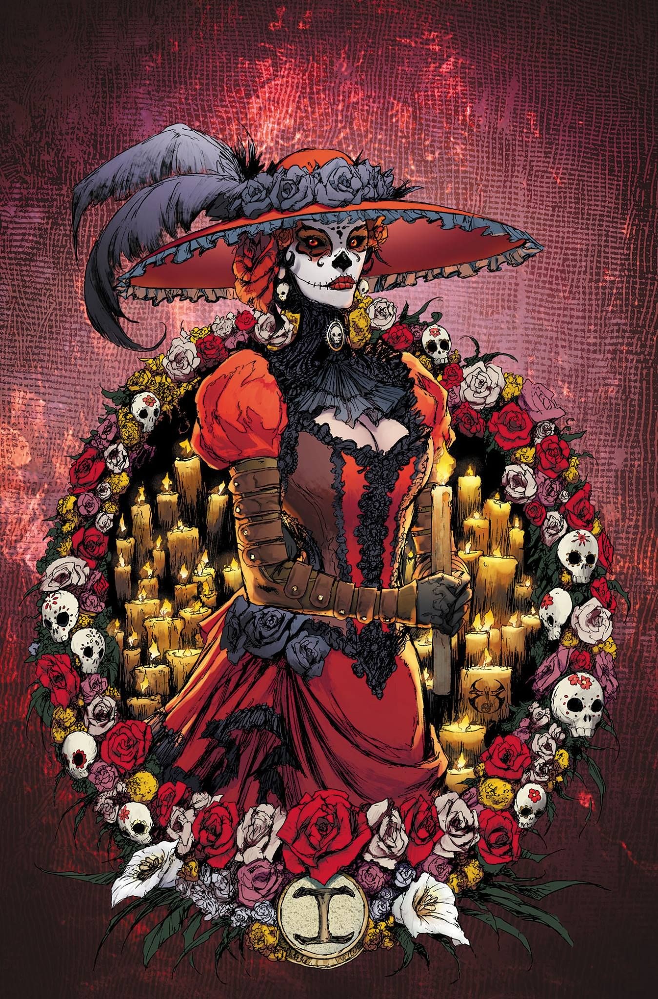 Lady Mechanika: Día de los Muertos # 1 - Cover by Joe Benitez and Peter Steigerwald