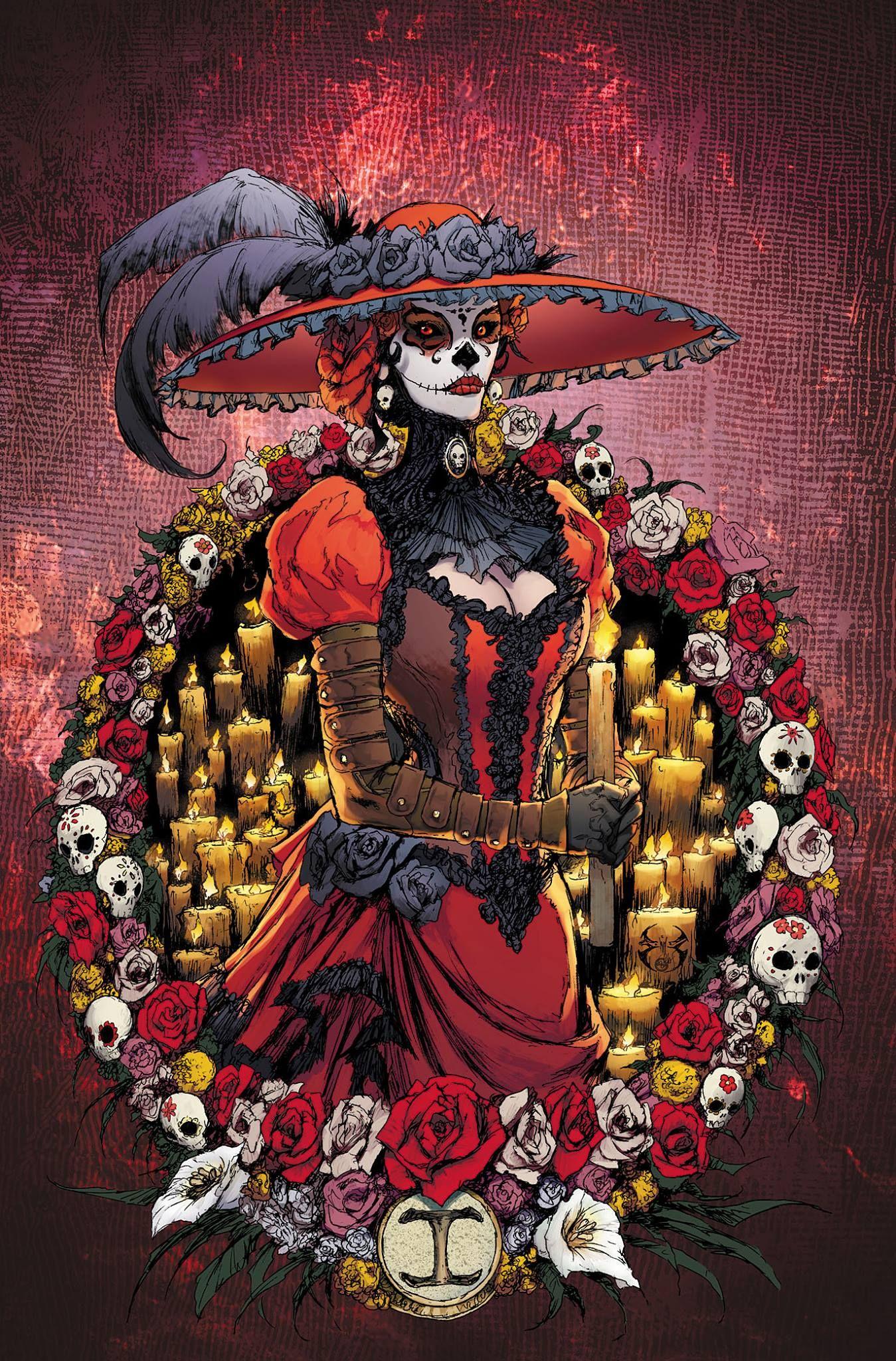 Lady Mechanika Día de los Muertos 1 Cover by Joe
