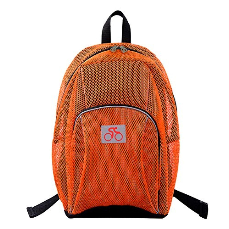 f5cf4b2d8a19 Orange Mesh Backpack- Fenix Toulouse Handball