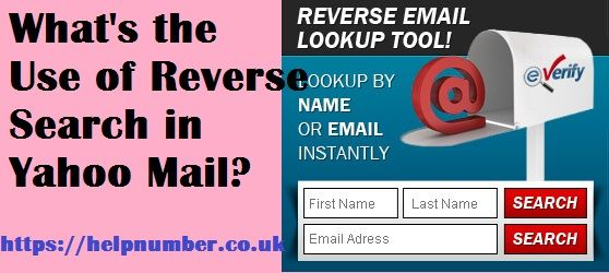 Reverse Search in Yahoo Mail ahoo Mail is one of the
