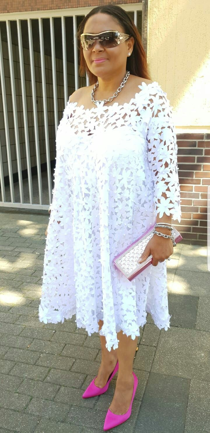 African white lace dress styles  Pin by Margaret MacShardow on Outfit  Pinterest  Africans
